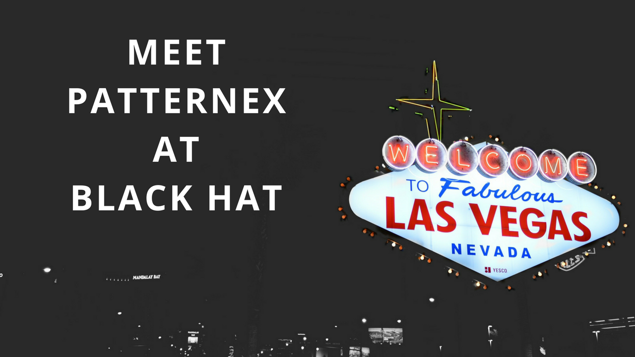 Meet PatternEx at Black Hat